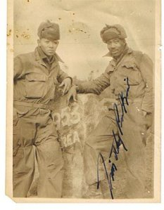 Roland Davis & Timothy - Korea 1953