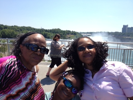 Mom, Granddaughter Taylor and Me - Niagara Falls, NY