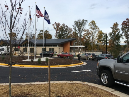 Montclair Public Library Ribbon Cutting Ceremony - 29 Oct 2015