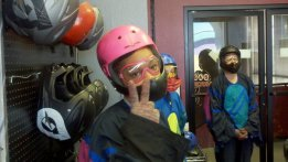 Jasmine Ready For Indoor Sky Diving - Las Vegas