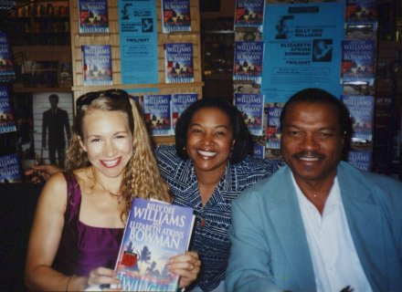 Elizabeth Atkins Bowman, Me and Billy Dee Williams, 2002