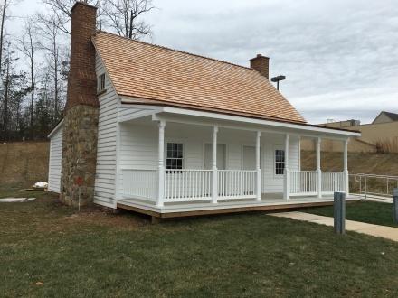 historic barnes house 4 feb 2016 - left side